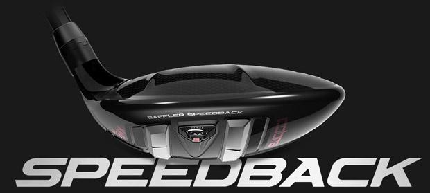 Cobra Ladies KING F9 Speedback Black/Rose Gold Fairway Wood