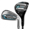 Cobra Ladies KING F8 Black/Blue Combo Iron Set