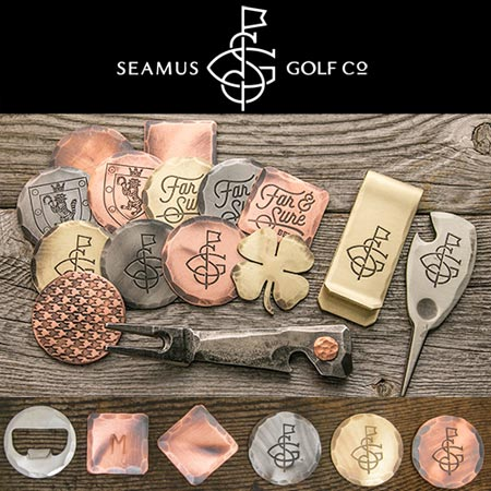 Seamus Golf Hand Forged Ball Marker