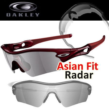 Oakley Asian Fit RADAR カスタム サングラス