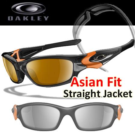 Oakley Asian Fit Straight Jacket カスタム サングラス