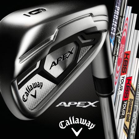 Callaway Apex CF 16 Custom Irons (カスタムアイアン)