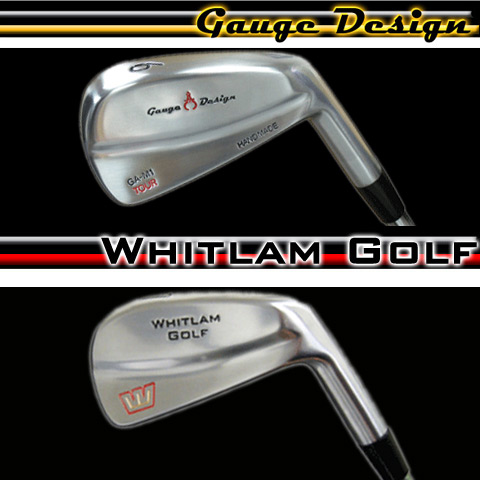 Gauge Design/Whitlam Golf Custom Irons (カスタムアイアンセット)