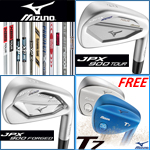 Mizuno JPX 900 Custom Irons with Free T7 Wedge Promotion