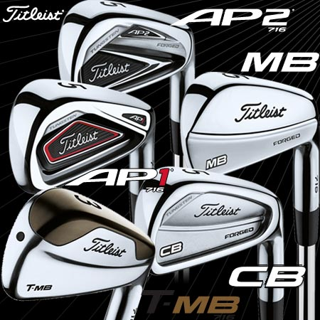 Titleist 716 Custom Individual Irons (カスタム 単品アイアン)