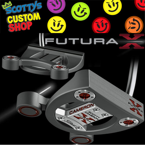 Scotty Cameron FUTURA X Custom Putters (カスタムパター)