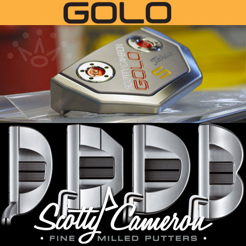 Scotty Cameron 2015 GoLo Custom Fit Putters (カスタムフィット パター)