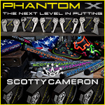 Scotty Cameron 2019 Phantom X Custom Putters
