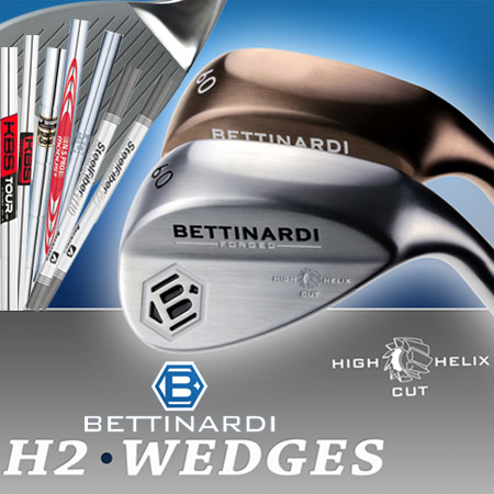 Bettinardi H2 Custom Wedges (カスタムウェッジ)