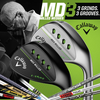 Callaway MD3 Custom Wedges