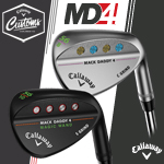 Callaway MD4 Custom Wedges with Paint Fill (カスタムウェッジ)