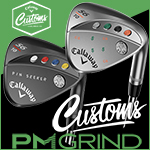 Callaway Mack Daddy PM Grind 19 Custom Wedges with Paint Fill