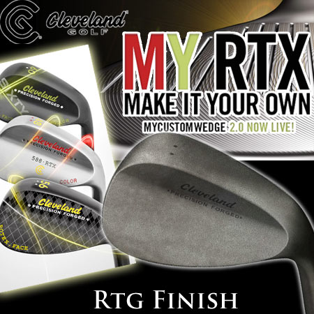 Cleveland My Custom Wedges 2.0 - 588 Fored RTX ノンメッキ仕上げ