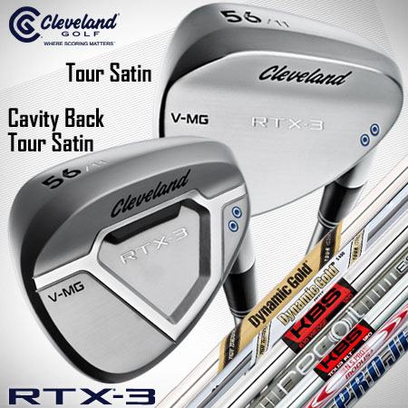 Cleveland RTX-3 Tour Satin Custom Wedges (カスタム ウェッジ)