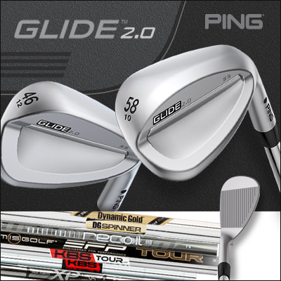 PING Glide 2.0 Custom Wedges (カスタムウェッジ)