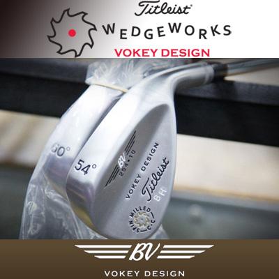 タイトリスト Vokey Design TVD 200 Series Custom Wedges