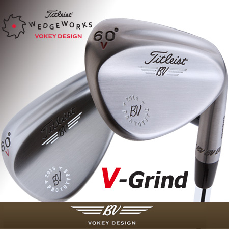 Titleist Vokey Design V Grind with Pro Channel Custom Wedges (カス