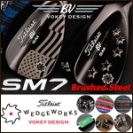 Titleist Vokey Design SM7 Brushed Steel Custom Wedge (カスタムウェッジ)