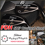 Titleist Vokey Design FOH SM7 Brushed Steel Custom Wedge