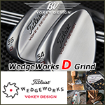 Titleist Vokey Design WedgeWorks D Grind Custom Wedge