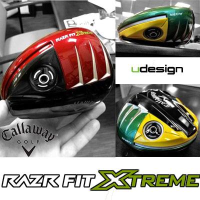 Callaway RAZR Fit Xtreme 特注ドライバー
