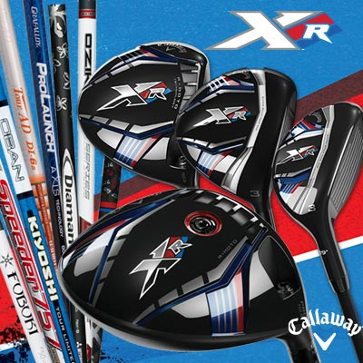 Callaway XR Series Custom Woods (カスタム ウッド)