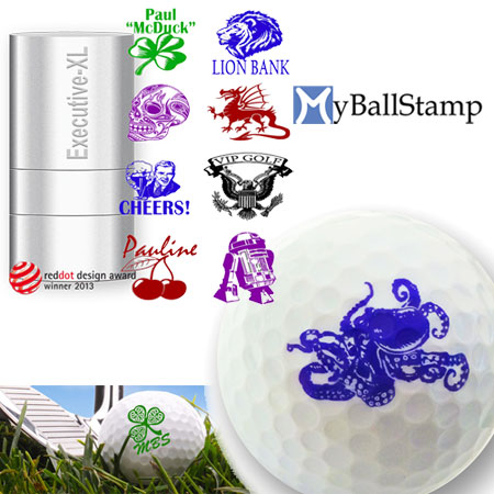 MyBallStamp - Executive-XL Golf Ball Stamp