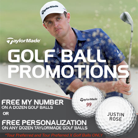 TaylorMade Tour Preferred Free Personalization カスタムボール