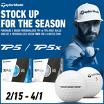 TaylorMade TP5/TP5x Buy 3 Get 1 Free with Free Personalization