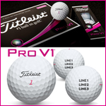 Titleist 2017 Pro V1 PINK Custom Golf Ball