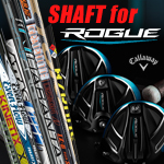 Callaway Custom Built Shafts Rogue with Shaft Adapter