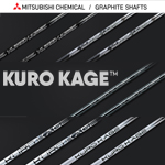 Mitsubishi Rayon KURO KAGE Shafts + Shaft Sleeves