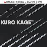 Mitsubishi Rayon KURO KAGE Shafts + Shaft Sleeves