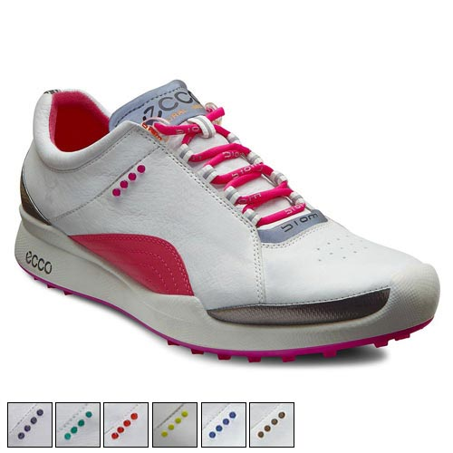 Ecco Ladies Biom Golf Hybrid Lace Shoes
