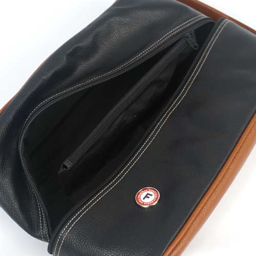 Fairway Golf Original Leather Shoe Bag