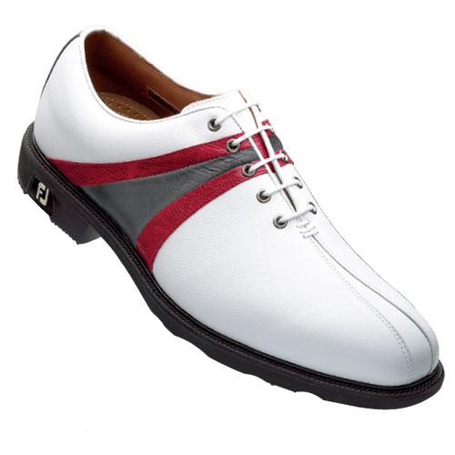 FootJoy FJ ICON Saddle w/Bicycle Toe Shoes