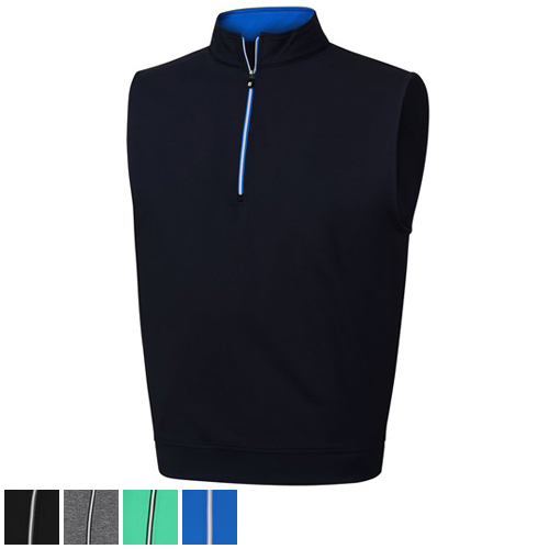 FootJoy Performance Half-Zip Vest w/Gathered Waist