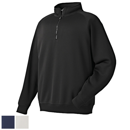 FootJoy Flat Back Rib Half Zip Pullovers (Previous Season Style)