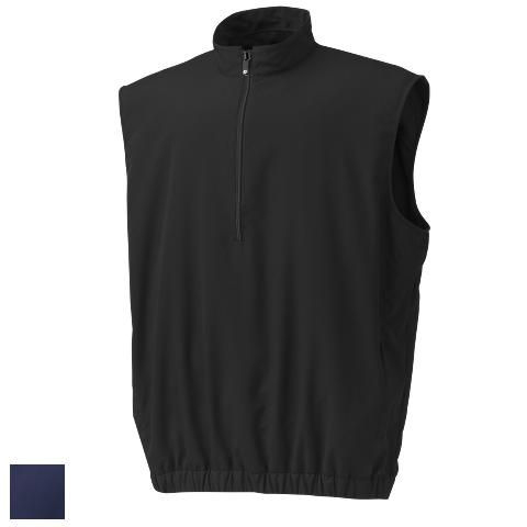 フットジョイ Half Zip Windshirt Vests