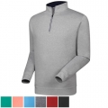 FootJoy Performance Half-Zip Pullover w/Gathered Waist