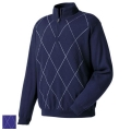 FootJoy Merino Argyle Half Zip Sweaters (Previous Season Apparel