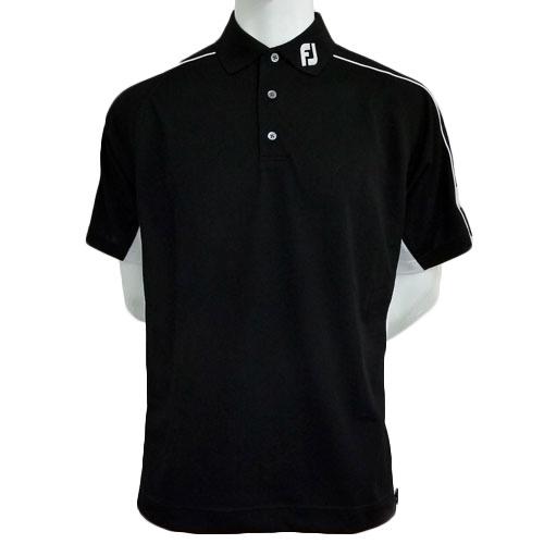 Footjoy prodry pique sport shirts w fj logo for Footjoy shirts with titleist logo