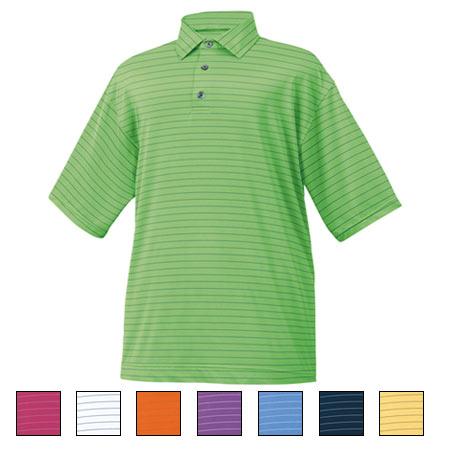 フットジョイ ProDry Performance Lisle Pencil Stripe Shirts