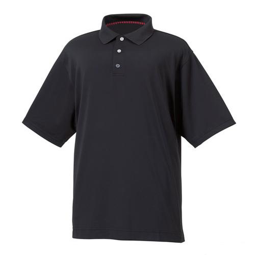フットジョイ ProDry Performance Lisle Solid w/Knit Collar Shirts