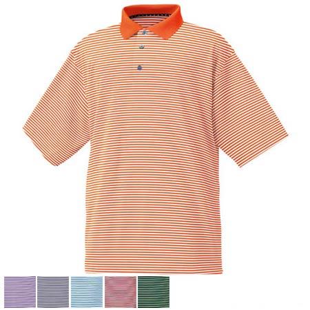 フットジョイ ProDry Performance Lisle Stripe Shirts