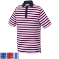 FootJoy Athletic Fit Stretch Lisle Multi-Stripe Self Collar