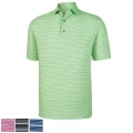 FootJoy Lisle Space Dye Stripe Self Collar