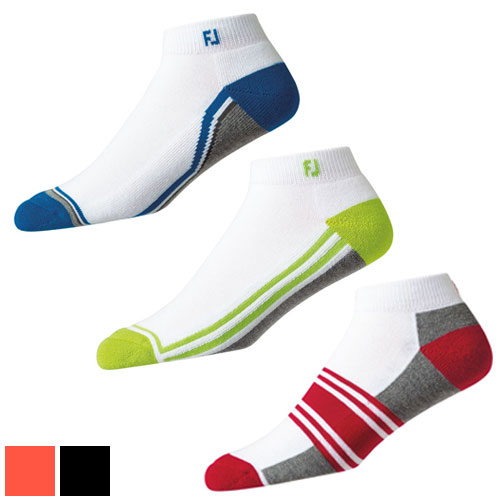 フットジョイ Dry Fashion Sport White Socks