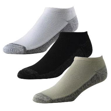 フットジョイ ProDry Low Cut Socks  (6 pairs)
