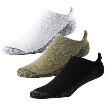 フットジョイ ProDry Roll-Top Socks  (6 pairs)